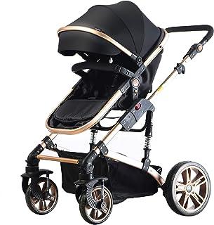 Teknum 3 in 1 Pram Stroller-Story-Black