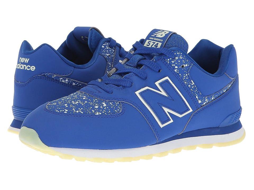 New Balance Kids GC574v1 Glow in the Dark (Big Kid) (Royal/Glow in the Dark) Boys Shoes