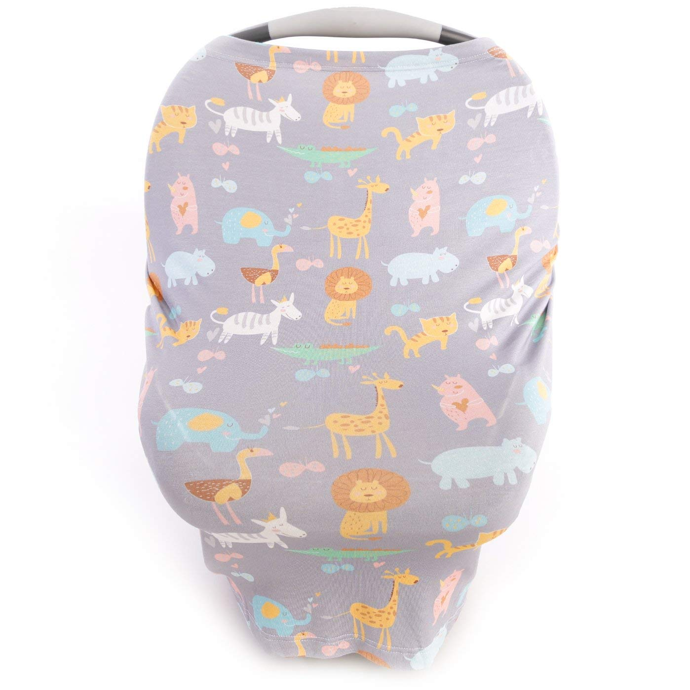 Kids N' Such Baby Car Seat Cover Car Seat Canopy & Nursing Cover, Jungle