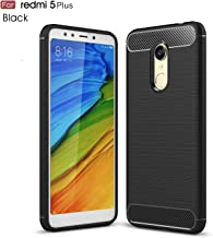 Xiaomi Redmi 5 Plus case,MYLB Slim Lightweight Carbon Fiber Design Flexible Soft TPU Case Highstrength Shockproof Protective Back Cover to Protect the Mobile Phone for Xiaomi Redmi 5 Plus (Black)
