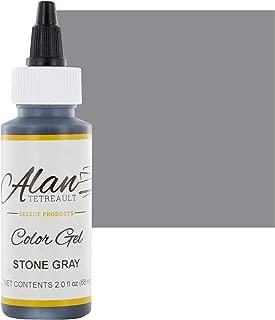 Stone Gray Premium Food Color Gel, 2 Ounces by Chef Alan Tetreault