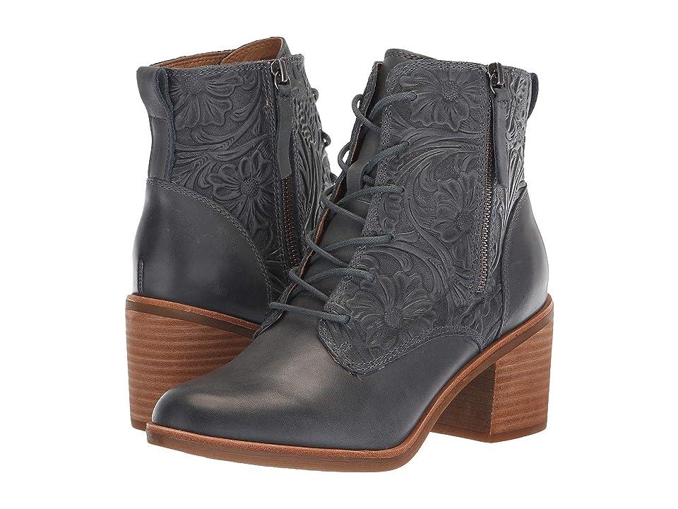 Sofft Sondra (Denim Blue La Mesa) Women's Lace-up Boots, Brown