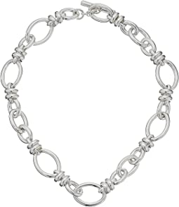 C.B220T/A/45 Rondelle Chain Necklace 45cm
