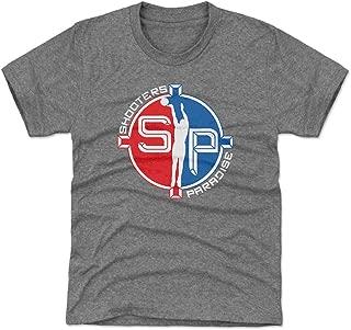 500 LEVEL Orlando Basketball Youth Shirt - Kids Medium (8Y) Tri Gray - Shooters Paradise WHT