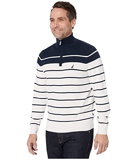 Nautica 14 Zip Pullover Sweater  