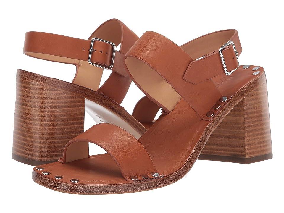 Jil Sander Navy JN32062A (Rust/Copper) High Heels