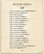 life is an opportunity by mother teresa