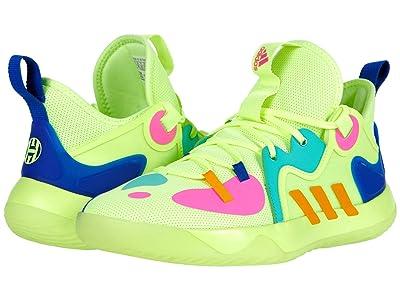 adidas Harden Stepback 2 (Yellow/Crew Yellow/Team Royal Blue) Athletic Shoes