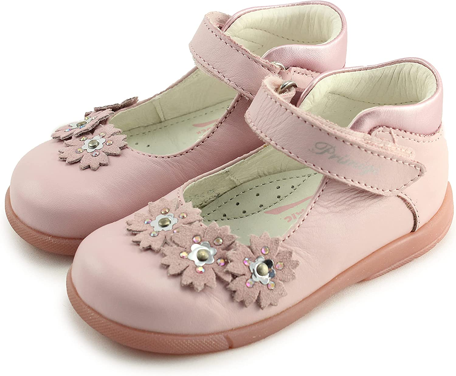 Primigi Girls Mary Jane Leather Shoes with Arch, Ankle, and Orthopedic Support (30221/00 Zaidi)