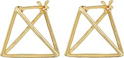 SHASHI - Pyramid Earrings