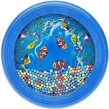 TOOGOO(R)Ocean Wave Bead Drum Gentle Sea Sound Musical Educational Toy Tool for Baby Kid Child