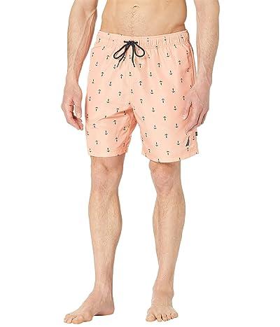 Nautica 8 Anchor Print Swim Shorts