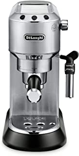 delonghi dedica espresso machine - metal