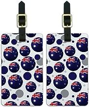 Graphics & More Futbol Football Country Australia Flag Soccer Ball, White