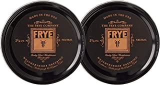 Frye Leather Conditioning Cream, Neutral - 2 Pack
