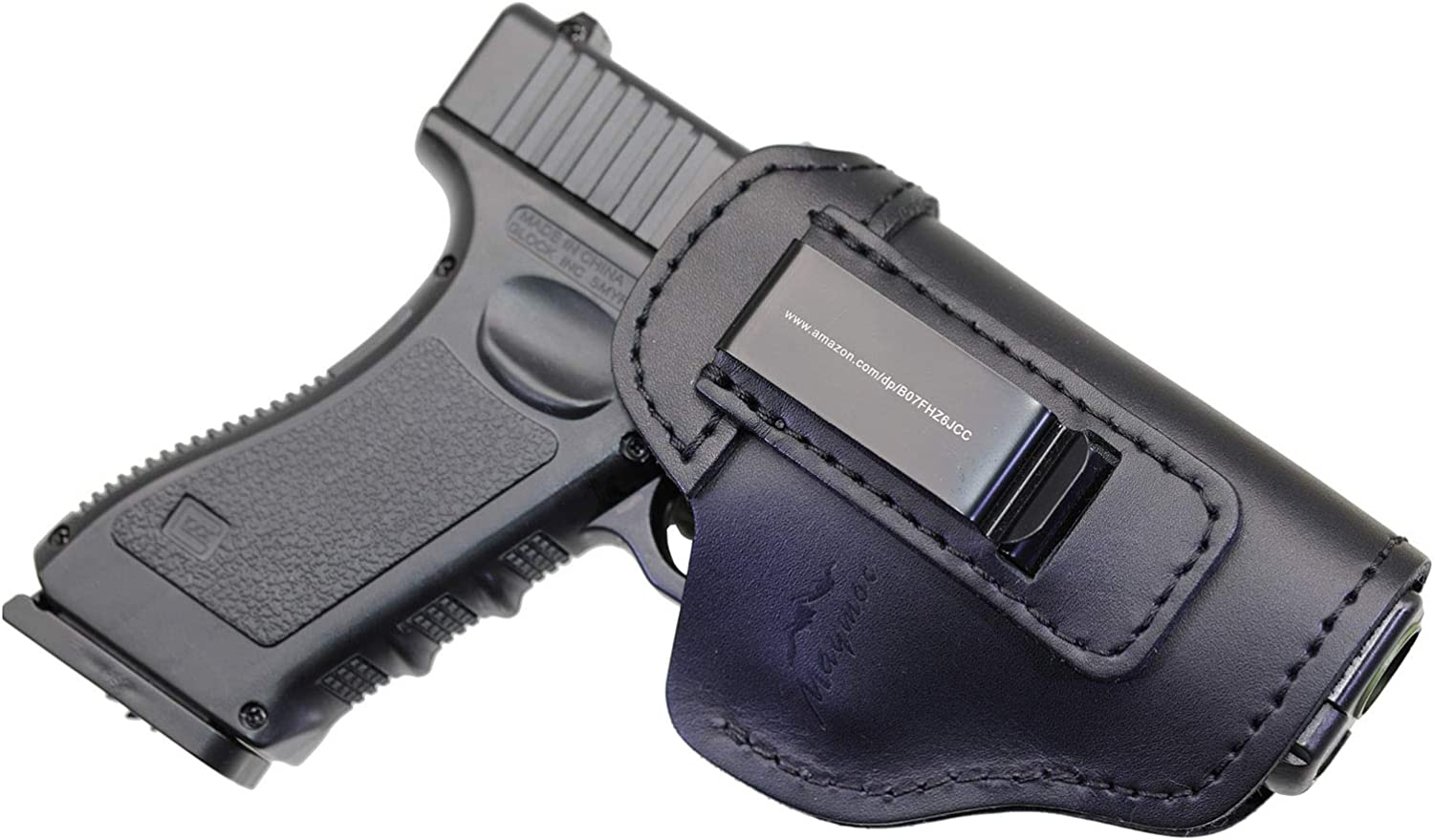 MAYMOC IWB Leather Holster Year-end gift Gun 17 Dealing full price reduction Compatible Glock for