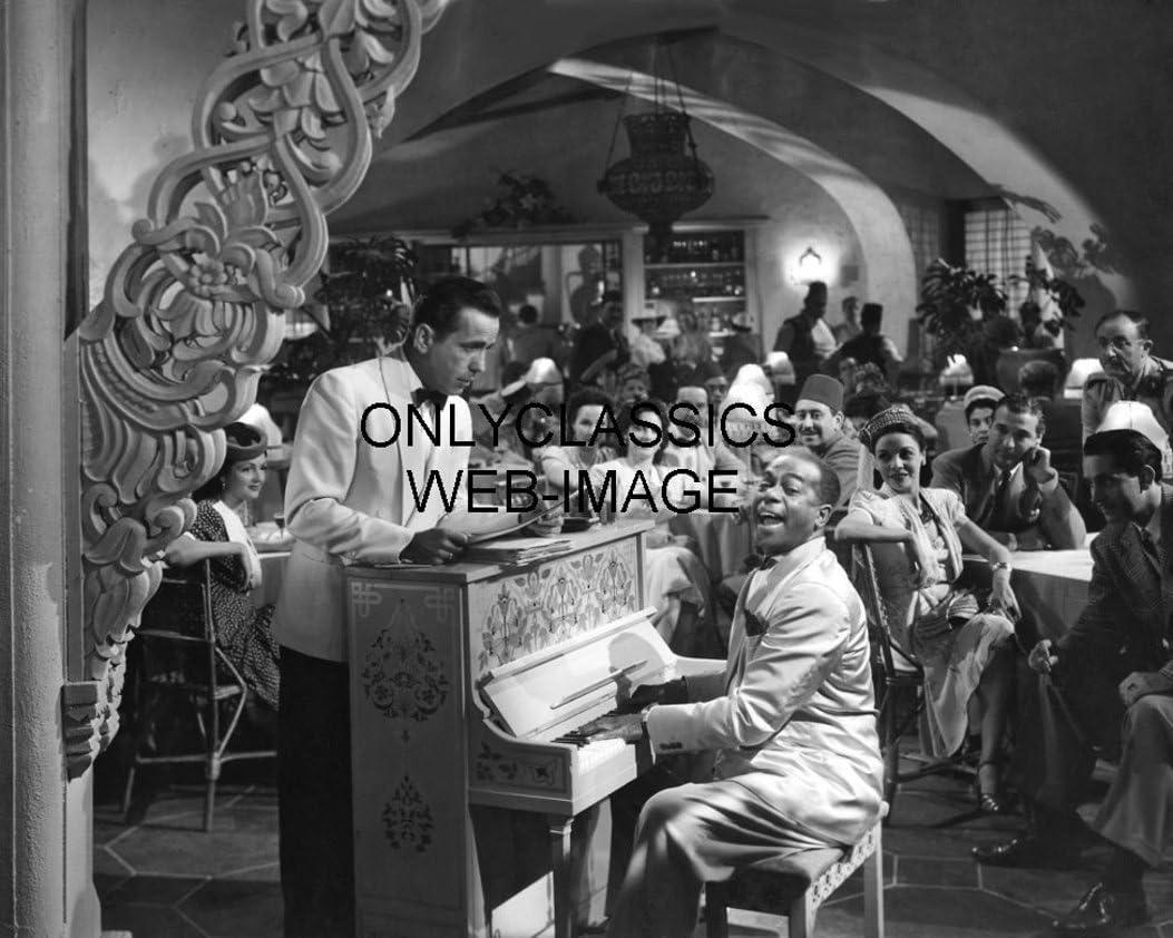 Discount mail order OnlyClassics 1942 Casablanca Movie Photo Piano Iconic Bargain sale Scene Hump