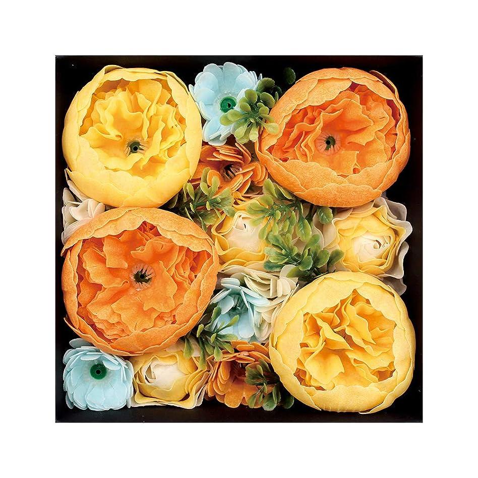 詩人収入調和ノルコーポレーション 入浴剤 シャンドフルール バスペタル 130g オレンジの香り シエル OB-EGN-1-4