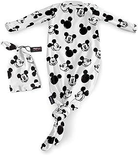 milksnob(ミルクスノッブ) Disney ディズニー ベビーハット&ガウン ミッキースケッチ 0-3ヶ月用