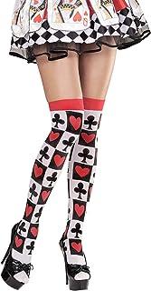 Widmann Widmann 01298 - Überkniestrümpfe mit Pokerkarten, Sonstige Spielwaren