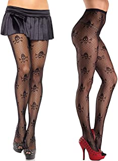 MengPa Women Fishnet Stockings High Waisted Tights Pantyhose for Dancing Party