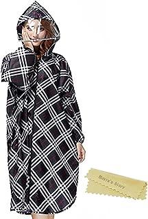 MAVIS'S DIARY レインコート ポリエステル パーカ式 全身カバーセット 収納ポーチ フード付き 男女兼用