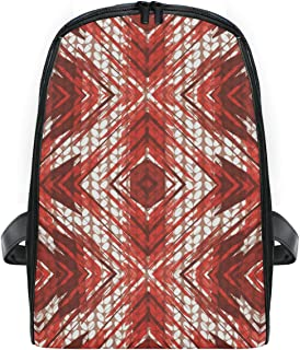 MALPLENA Small Kids Knapsack Special Painting Poinsettia Knitting Pattern Nursery School Kids Backpack