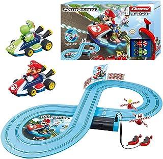 comprar comparacion Carrera-1. First Super Mario & Yoshi Circuito de Coches de Miniatura Nintendo Mario Kart de 2,4 m, Escala 1:50, Multicolor...