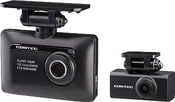コムテック 前後2カメラ ドライブレコーダー ZDR-015 前後200万画素 Full HD ノイズ対策済 夜間画像補正 LED信号対応 専用microSD(16GB)付 1年保証 Gセンサー GPS 高速起動...