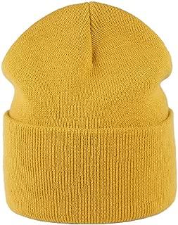 camptrace Beanie Hat Winter Warm Skull Knit Cuffed Hats Men Women Soft Plain Cuff Ski Skull Cap