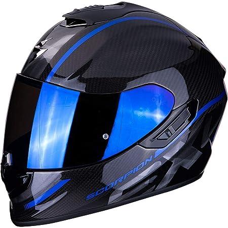 Scorpion Motorradhelm Exo 1400 Air Carbon Grand Blue Schwarz Blau Xl Auto