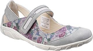 Fleet & Foster Womens/Ladies Floral Elderflower Mary Jane Shoes