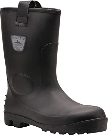 Portwest Steelite Neptune Rigger Boot Size 39 UK 6 Black