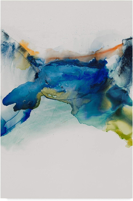 Trademark Fine Art Abstract Terrain II by Sisa Jasper, 12x19