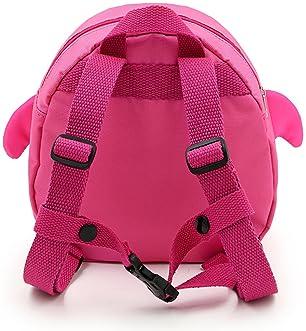 Hipiwe Baby Toddler Walking Safety Backpack Little Kid Boys Girls Anti-Lost Travel Bag Harness Reins Cute Cartoon Pen...