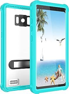 EFFUN Samsung Galaxy S8 Waterproof Case, IP68 Certified Waterproof Underwater Cover Dustproof Snowproof Shockproof Case wi...