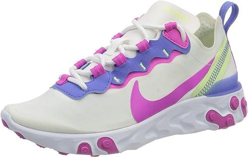 Nike React Element 55 Women's Shoe, Chaussure de Course Femme ...