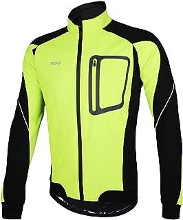 Winter Thermal Fleece Cycling Jacket Windproof 14D