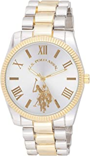 U.S. Polo Assn. Women's Quartz Stainless Steel and Alloy Watch, Color:Two Tone USC40253