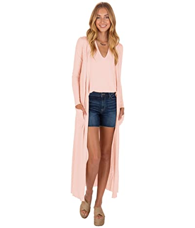 LAmade Reed Duster Cardigan (Coral Pink) Women