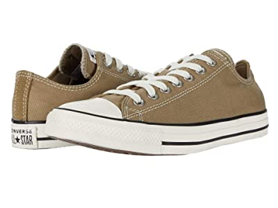 Converse Chuck Taylor All Star Ox (Khaki/Egret/Black) Lace up casual Shoes