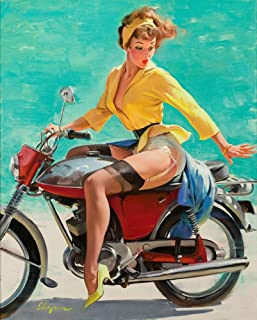 Berkin Arts Gil Elvgren Giclee Canvas Print Paintings Poster Reproduction(Pin Up Girls 79)