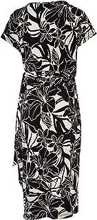 Belle Bird Womens Knee Length Dresses Belle Evening Floral Dress Floral