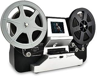 """Super 8 Roll Film & Regular 8 Roll Film Reels Scanner(5""""&3"""") Digital Vido Scanner and Movie Digitizer for 8mm/S8 mm Film w..."""