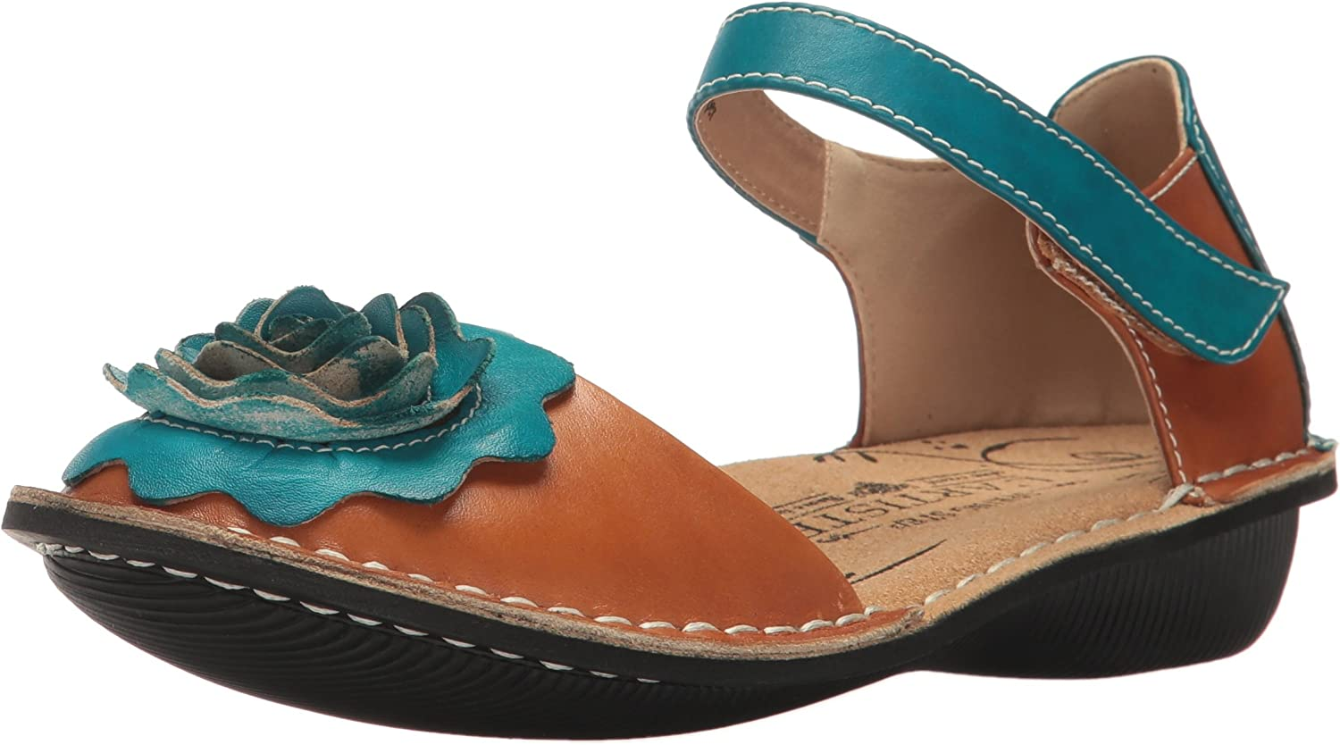 L'Artiste by Spring Step Womens Caicos-cam Mary Jane Flat