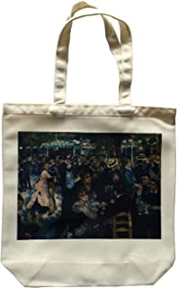 Fleurs(フルール) ATB-M-Renoir ルノアール 絵画選択タイプ【両面プリント】 8種の絵柄 ポリキャンパス トートバッグ メンズ・レディース プリントトートバッグM エコバッグ
