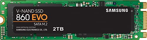 Samsung SSD Interne 860 EVO M.2 (2 TB) - MZ-N6E2T0BW