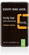 Every Man Jack Body Bar, Citrus Scrub, 7 Ounce (Packaging May Vary)