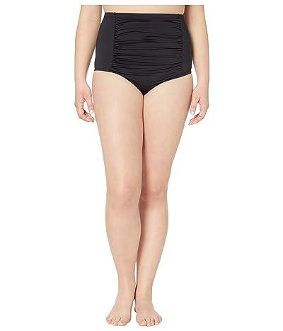 BECCA by Rebecca Virtue Plus Size Color Code Vintage Fit Bottoms (Black) Women