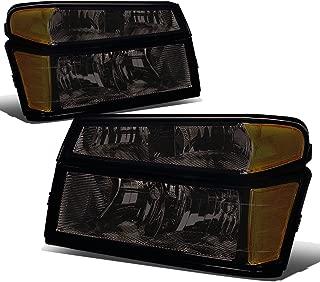 For Chevy Colorado/GMC Canyon 4Pcs of Smoked Lens Amber Corner Headlight Bumper Light